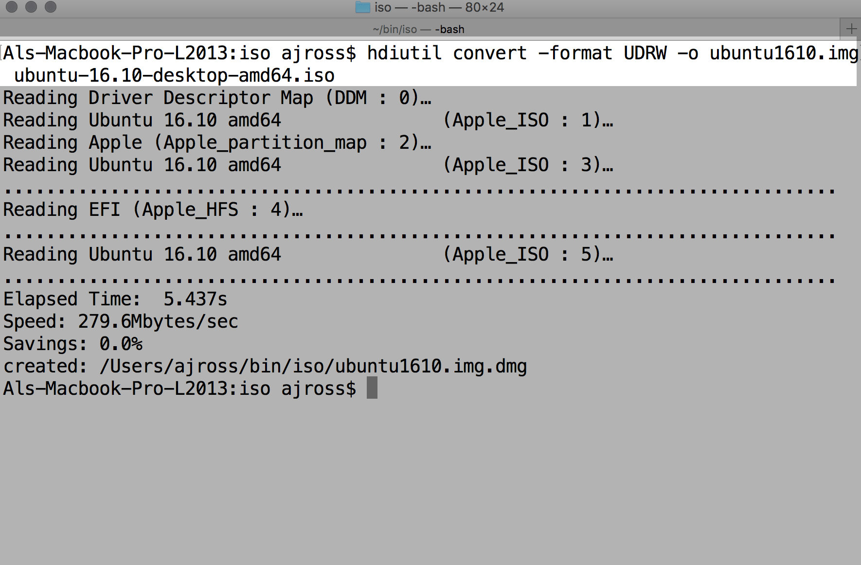 How to boot an ubuntu iso from your hard drive 4 steps - Convert Iso To Udrw For Use On The Usb Stick From The Mac