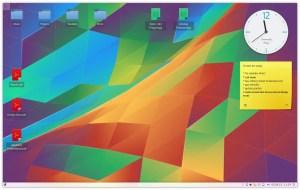 The KDE4 Plasma Desktop