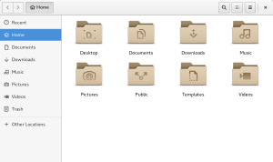GNOME Nautilus File ManagerA=