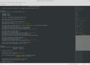 xed editor Linux Mint 18.3