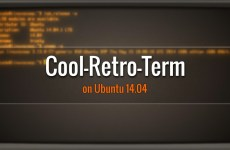 Install cool-retro-term in Ubuntu 14.04