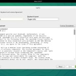 OpenSUSE 13.2 GNOME Installation Agreement