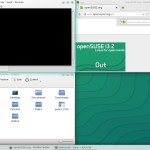 OpenSUSE 13.2 KDE - Tile Window