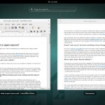 Ubuntu Gnome 14.10 : Document Viewer and Libreoffice