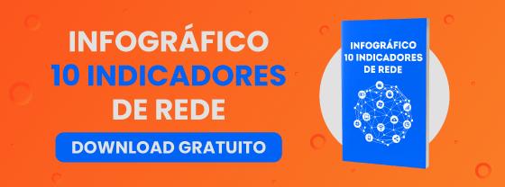 Infográfico Gratuito: 10 Indicadores de Redes