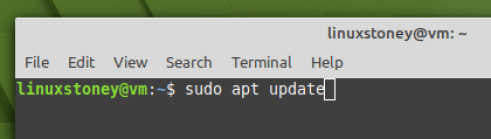 Update Linux mint system repository