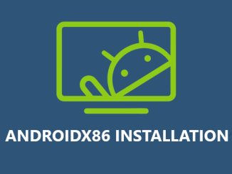 Install AndroidX86 on VirtualBox and Desktop PC