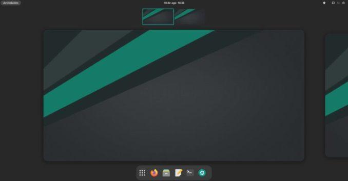 Manjaro 21.1 with GNOME 40
