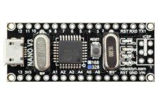 Arduino NANO, maga a vezérlő egység.