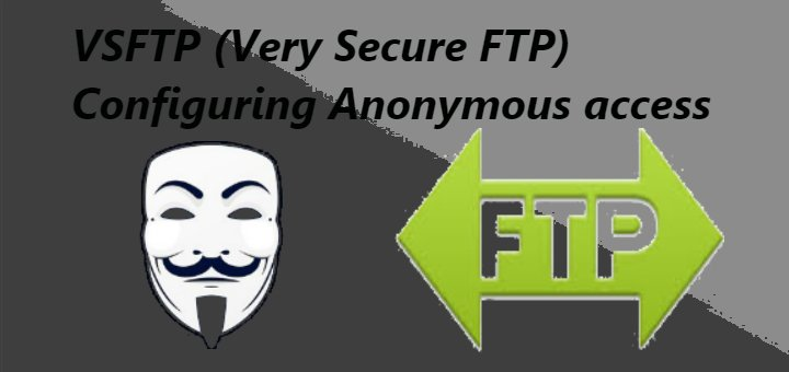 vsftp anonymous access
