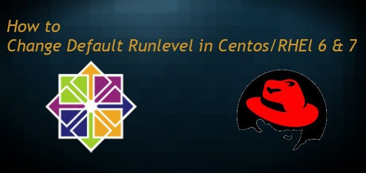 changing default runlevel