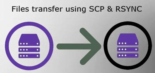 scp & rsync commands