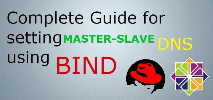 master slave dns