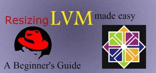 resizing LVM