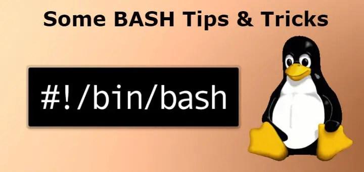 bash tips tricks