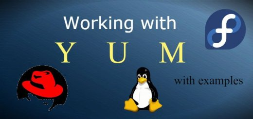 yum command examples