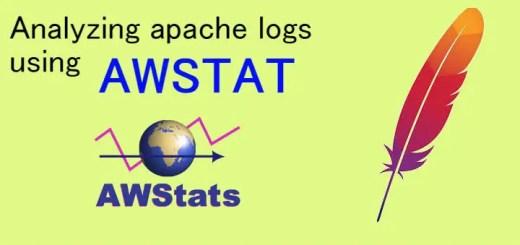 Installing awstat