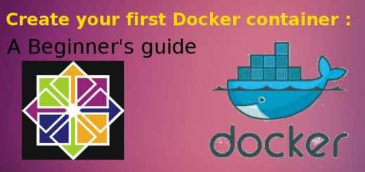 create docker container