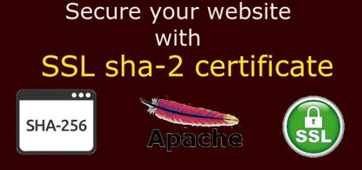 sha2 certificate
