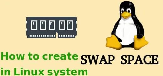 create swap