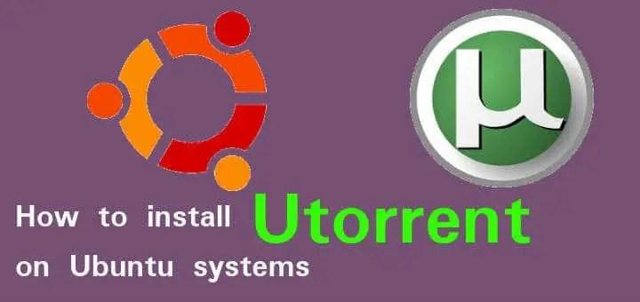 utorrent on ubuntu