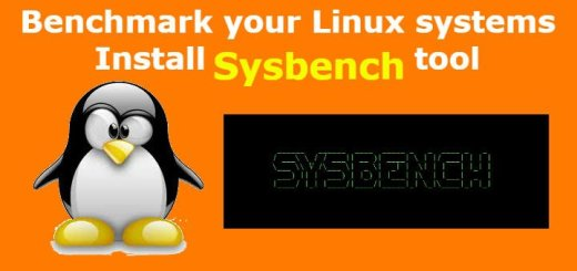 install sysbench