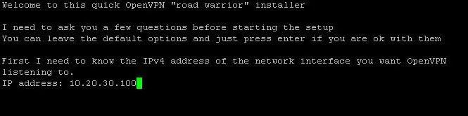 install OpenVPN