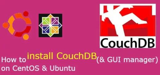 install couchdb