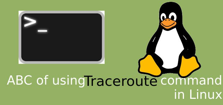 traceroute command in linux