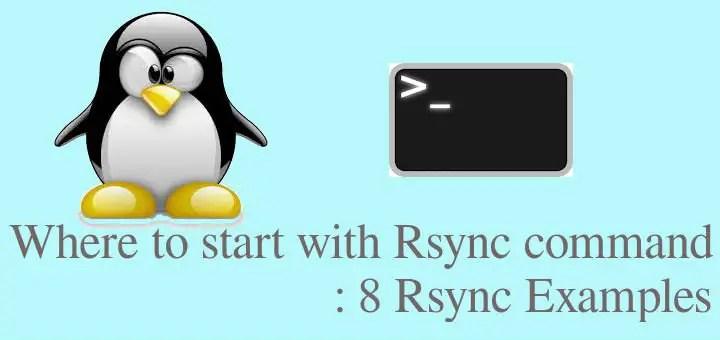 rsync examples
