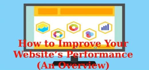 website's performance