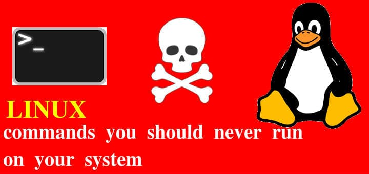 Linux commands you should never run