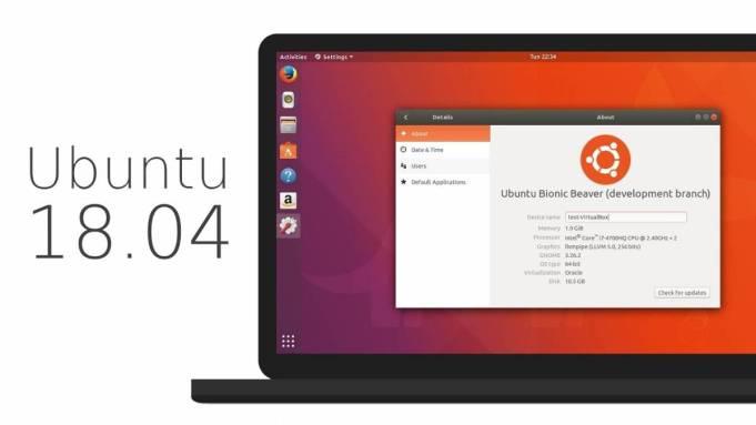 ubuntu 18.04 beta 1