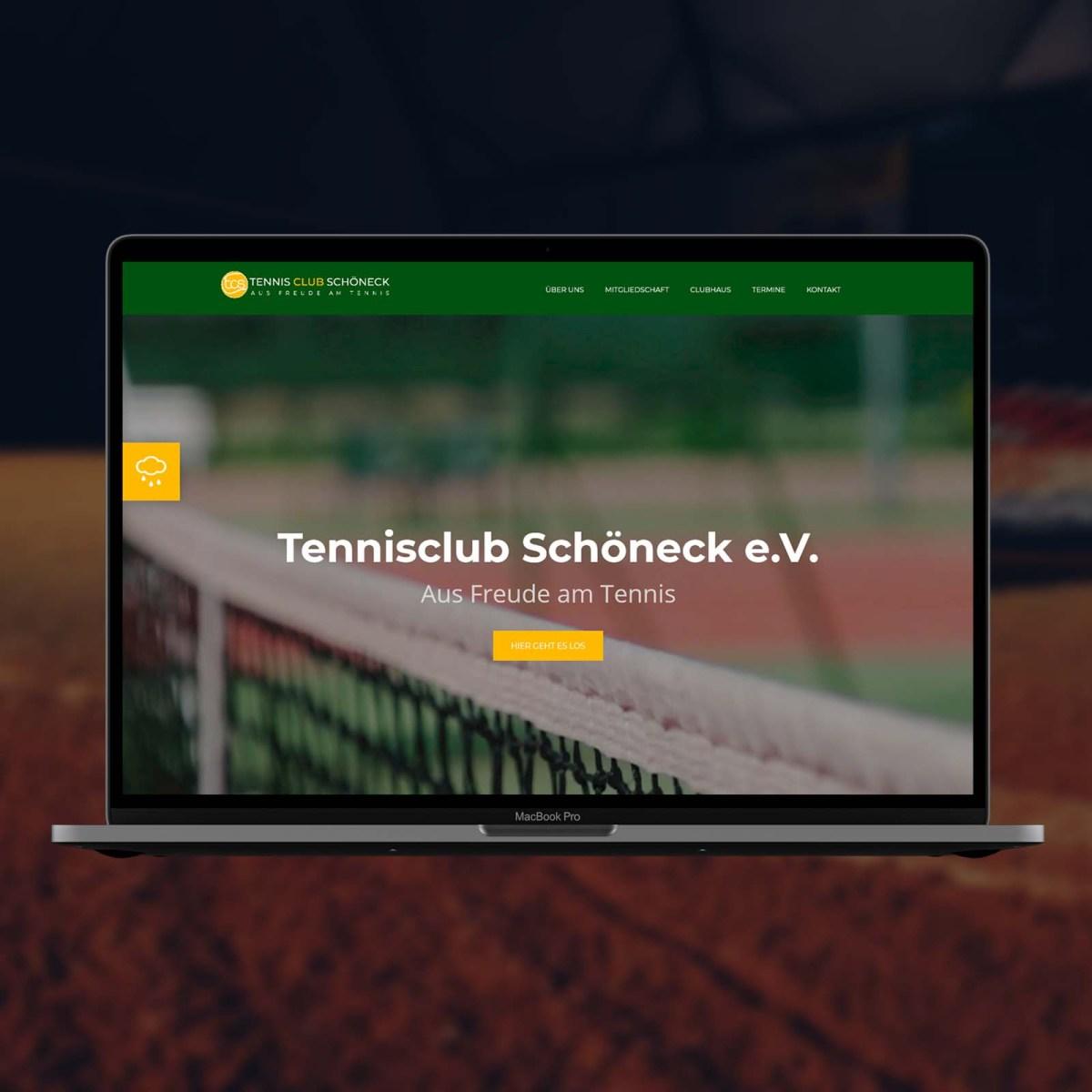 Tennisclub Schöneck Website