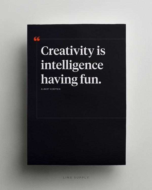 Creativity – Albert Einstein