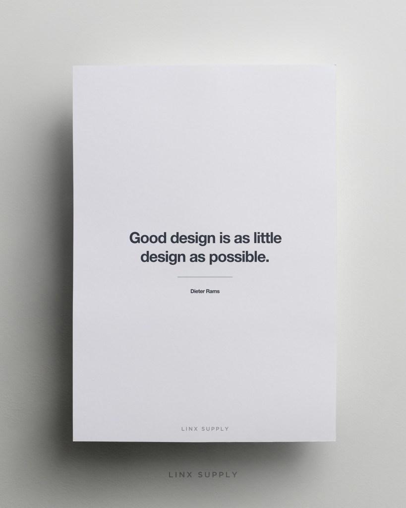 Good Design mock
