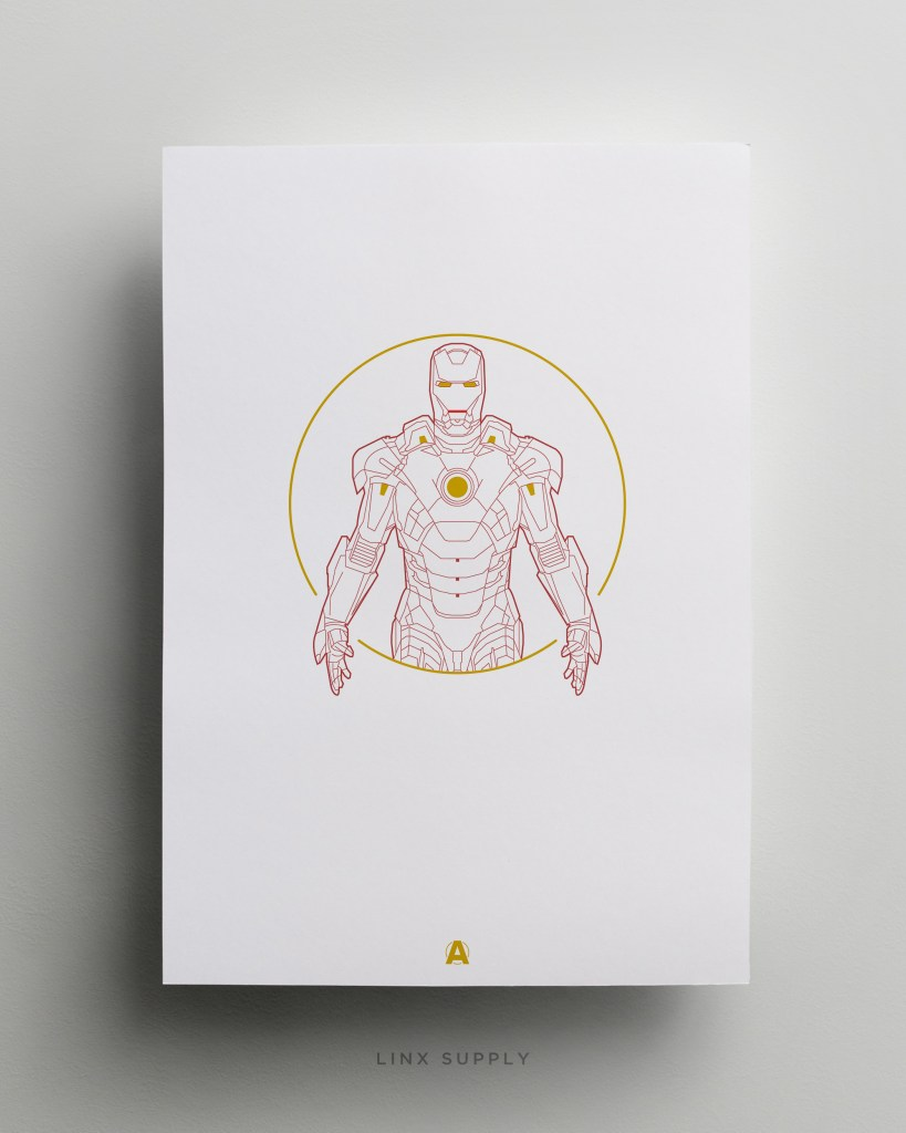 iron man Mockup