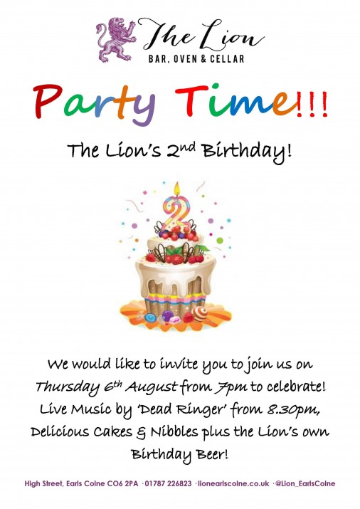 Party Time poster (A4)1