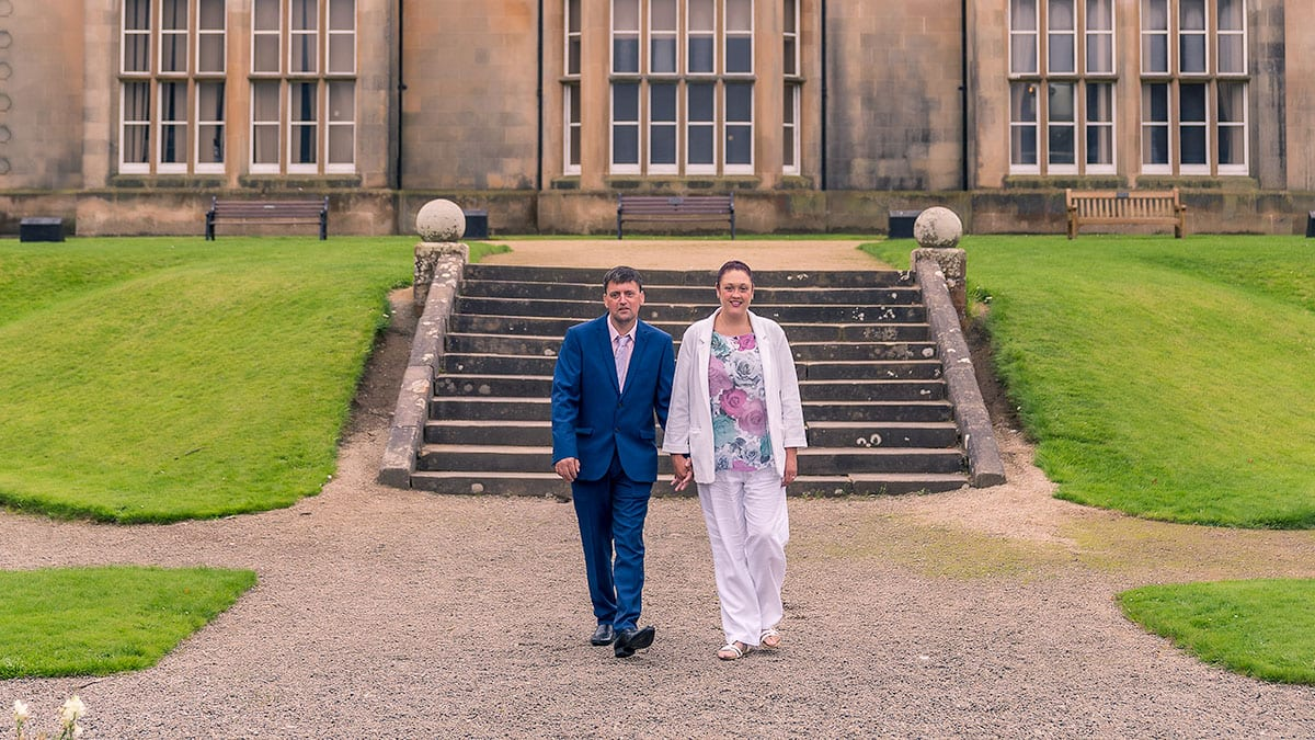 Bangor Castle Pre-Wedding Photography