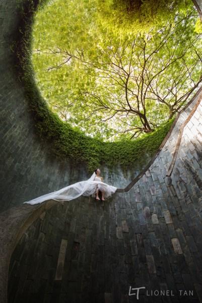 singapore bridal shoot fort canning