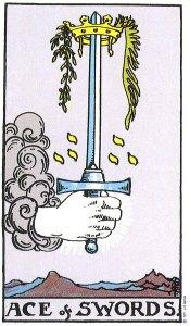 Ace of Swords, Waite-Smith