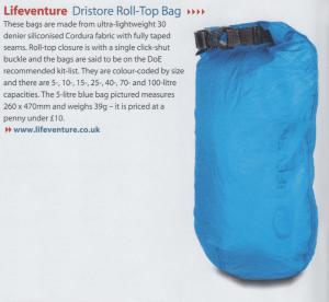 DriStore Bag - Diver Nov15