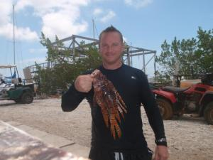 Deep Water Lionfish Hunting with Kelly Ash