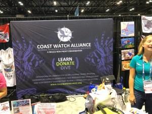 Coast Watch Alliance booth