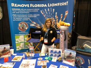 FWC Lionfish control booth