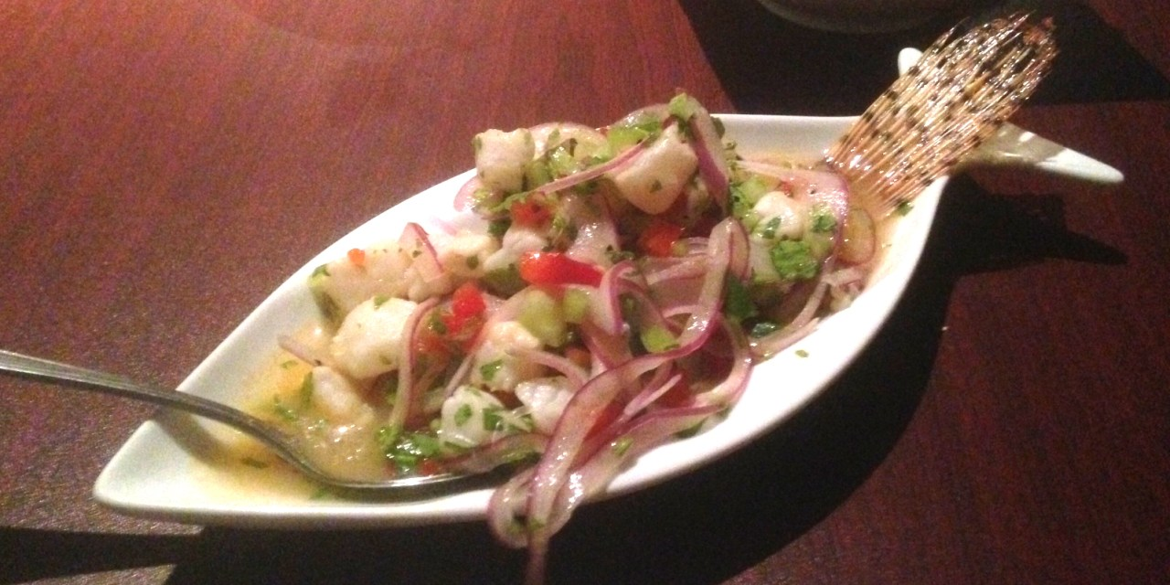 Lionfish Ceviche with Chef Taquin