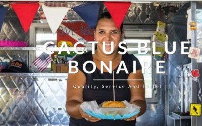 Cactus Blue Food Truck, Bonaire