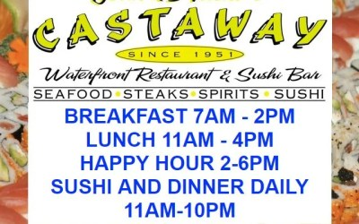 Castaway Waterfront Restaurant and Sushi Bar Marathon FL