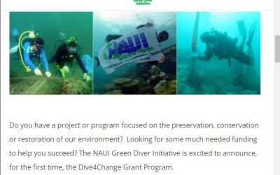 NAUI Green Diver Lionfish News