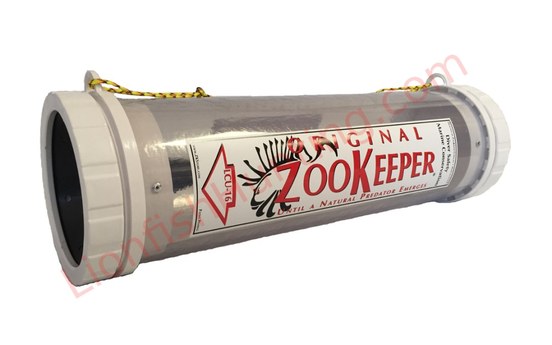 Zookeeper lionfish containment unit